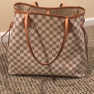 Louis Vuitton Neverfull Damien Bag